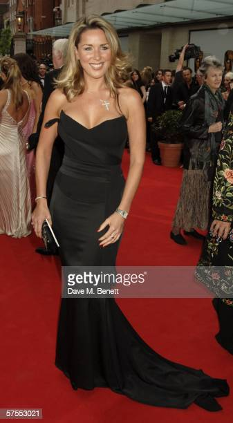 Actress Claire Sweeney arrives at the Pioneer British Academy Television Awards 2006 at the Grosvenor House Hotel on May 7 2006 in London England