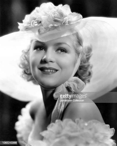 Actress Claire Trevor in a scene from the movie Song and Dance Man