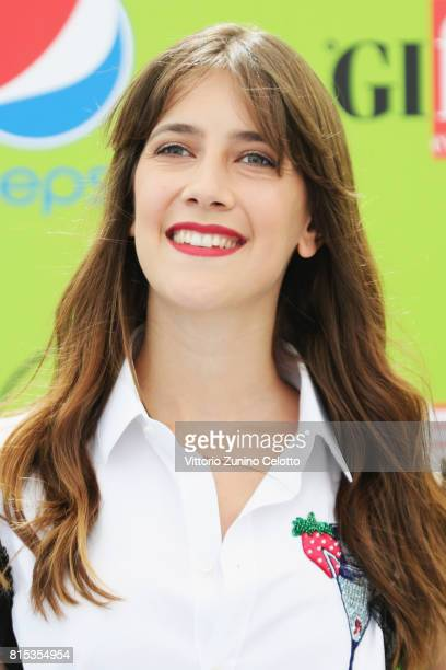 Actress Clara Alonso attends Giffoni Film Festival 2017 on July 16 2017 in Giffoni Valle Piana Italy