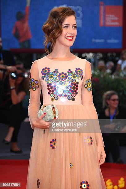 Actress Clara Alonso attends the premiere of 'Piuma' during the 73rd Venice Film Festival at Sala Grande on September 5 2016 in Venice Italy
