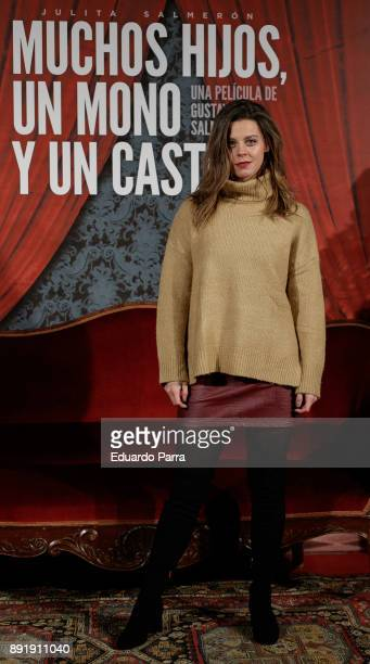 Actress Clara Alvarado attends the ''Muchos Hijos Un Mono Y Un Castillo' premiere at Callao cinema on December 13 2017 in Madrid Spain