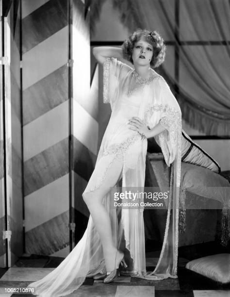 Actress Clara Bow in a scene from the movie Her Wedding Night