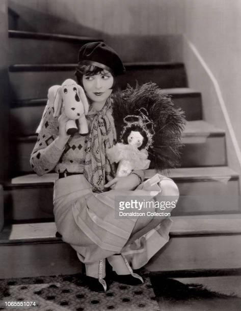 Actress Clara Bow in a scene from the movie It