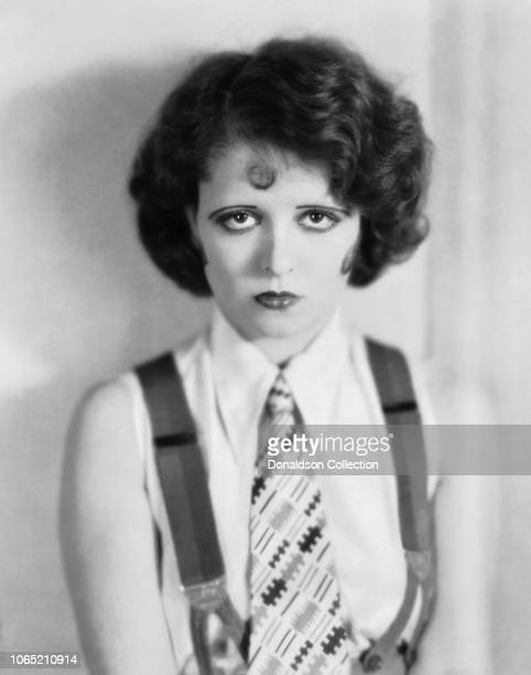 Actress Clara Bow in a scene from the movie The Wild Party