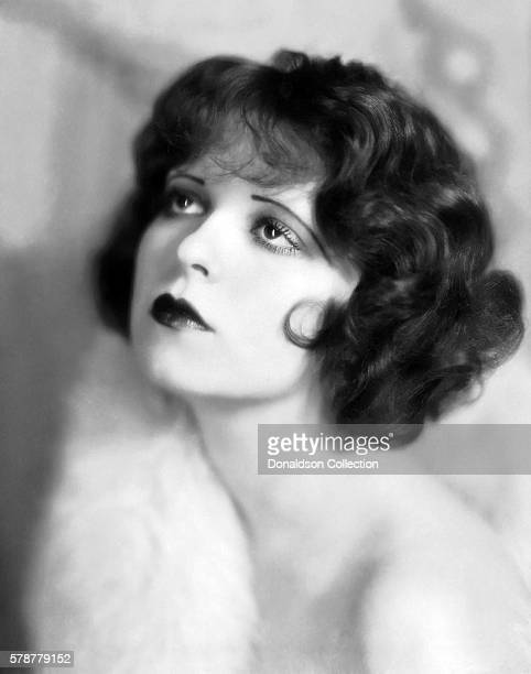 Actress Clara Bow poses for a Paramount Pictures publicity still circa 1927 in Los Angeles California