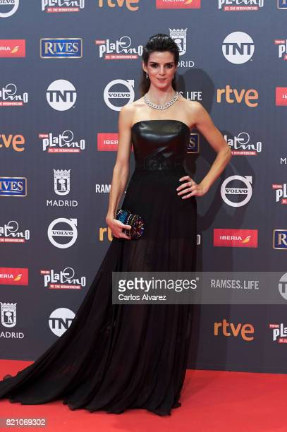 Actress Clara Lago attends the Platino Awards 2017 photocall at the La Caja Magica on July 22 2017 in Madrid Spain
