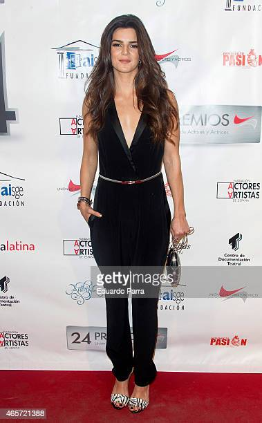 Actress Clara Lago attends the Union de actores Awards at La Latina theatre on March 9 2015 in Madrid Spain