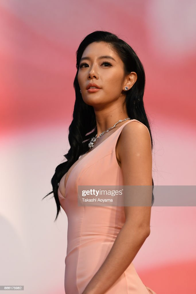 Actress Clara Lee attends the red carpet of the 30th Tokyo International Film Festival at Roppongi Hills on October 25, 2017 in Tokyo, Japan.