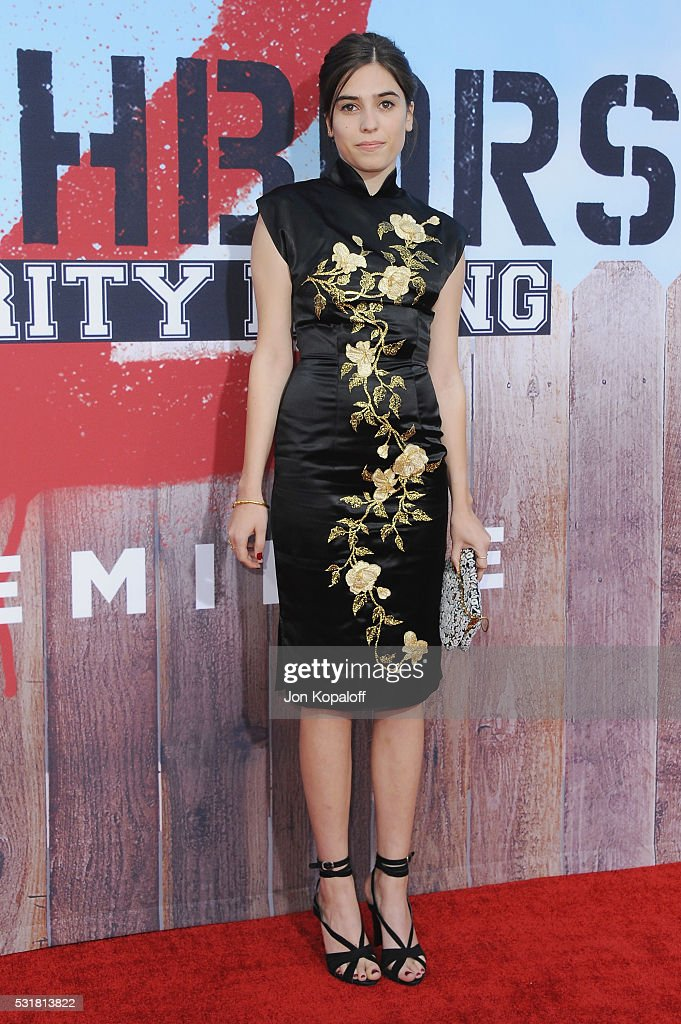Actress Clara Mamet arrives at the Los Angeles Premiere 'Neighbors 2: Sorority Rising' at Regency Village Theatre on May 16, 2016 in Los Angeles, California.