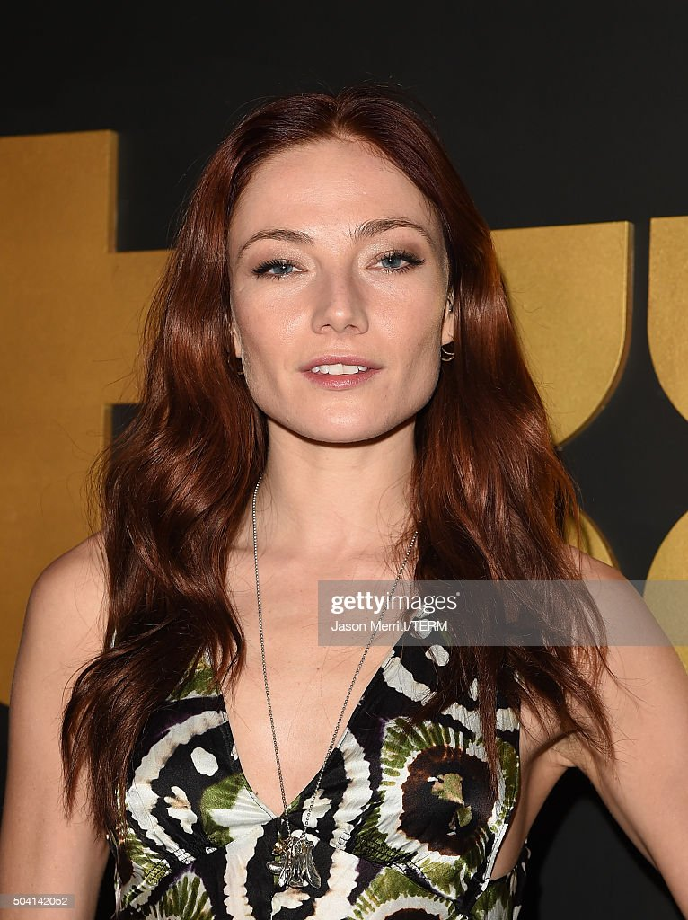 Actress Clara Paget attends the STARZ Pre-Golden Globe Celebration at Chateau Marmont on January 8, 2016 in Los Angeles, California.