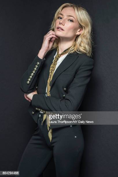 Actress Clara Paget photographed for NY Daily News on October 7 in New York City