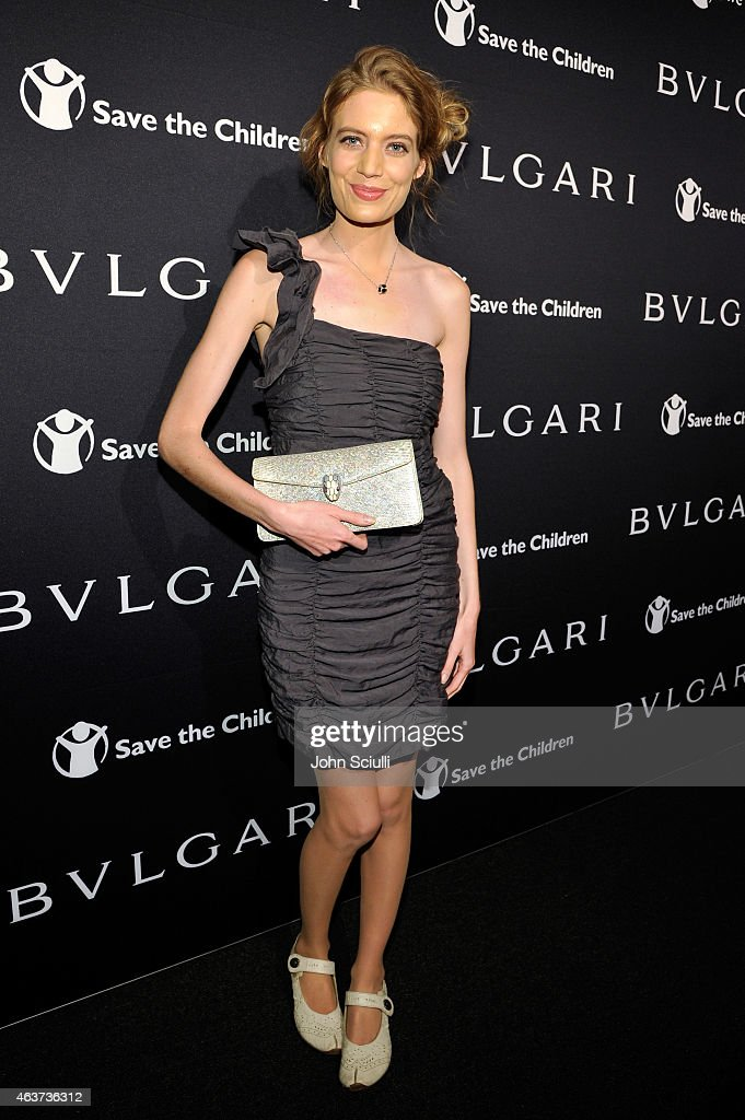 Actress Clara Pasieka attends BVLGARI and Save The Children STOP. THINK. GIVE. Pre-Oscar Event at Spago on February 17, 2015 in Beverly Hills, California.