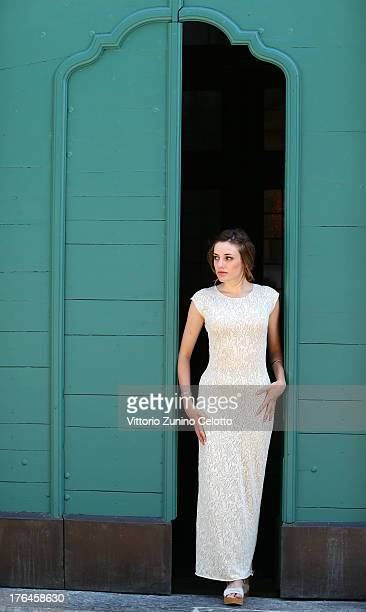 Actress Clara Visa poses for a portrait during the 66th Locarno Film Festival on August 13, 2013 in Locarno, Switzerland.