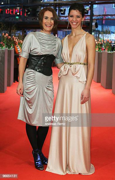 Actress Clara Voda and Ada Condeescu attend the 'Eu Cand Vreau Sa Fluier Fluier' Premiere during day three of the 60th Berlin International Film...