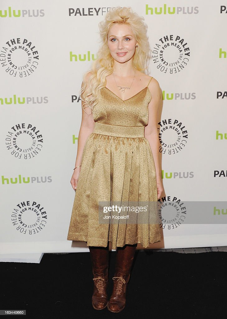 Actress Clare Bowen arrives at 'Nashville' part of the 30th Annal William S. Paley Television Festival at Saban Theatre on March 9, 2013 in Beverly Hills, California.