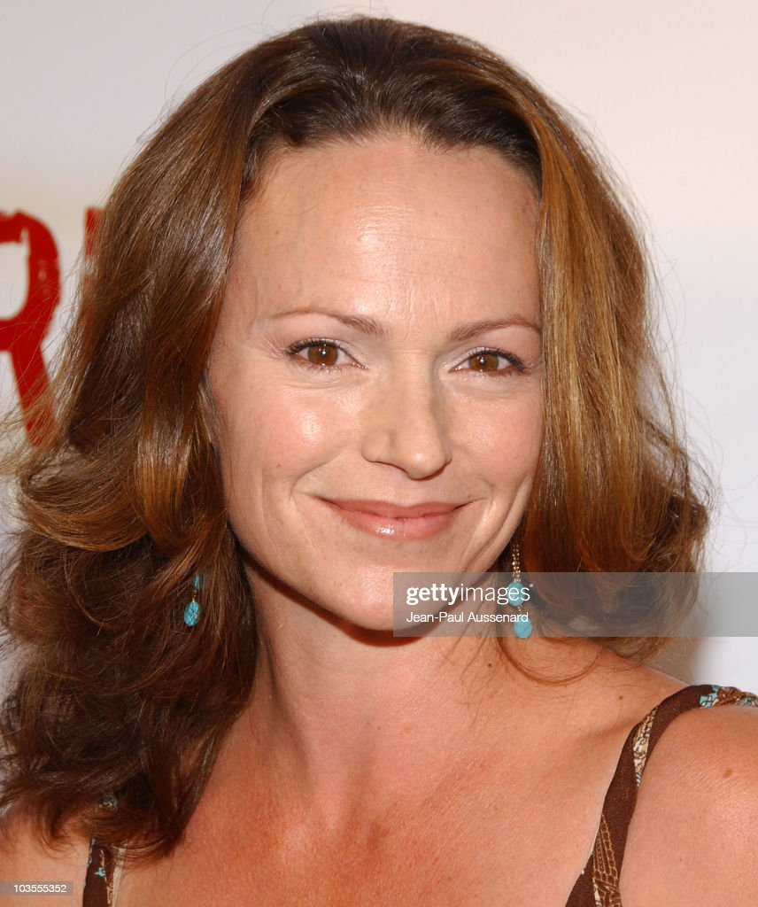 Actress Clare Carey arrives at the Jericho first season DVD launch party held at Crimson on October 2nd, 2007 in Hollywood, California.