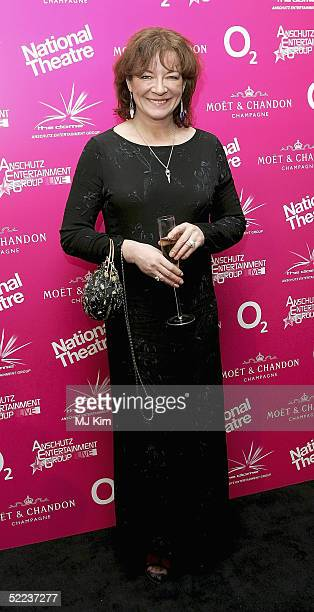 Actress Clare Higgins attends the National Theatre Fast Forward reception at the Former Saatchi Gallery Building on February 24 2005 in London The...