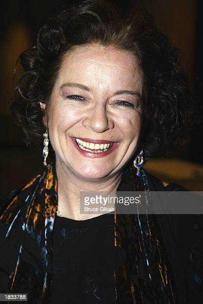 Actress Clare Higgins attends the Opening Night Party for The Lincoln Center Theater Production of 'Vincent in Brixton' at The Marriot Marquis...