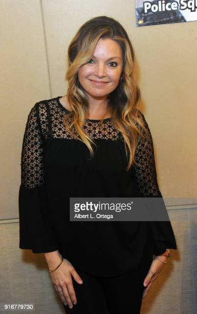 Actress Clare Kramer attends The Hollywood Show held at Westin LAX Hotel on February 10 2018 in Los Angeles California