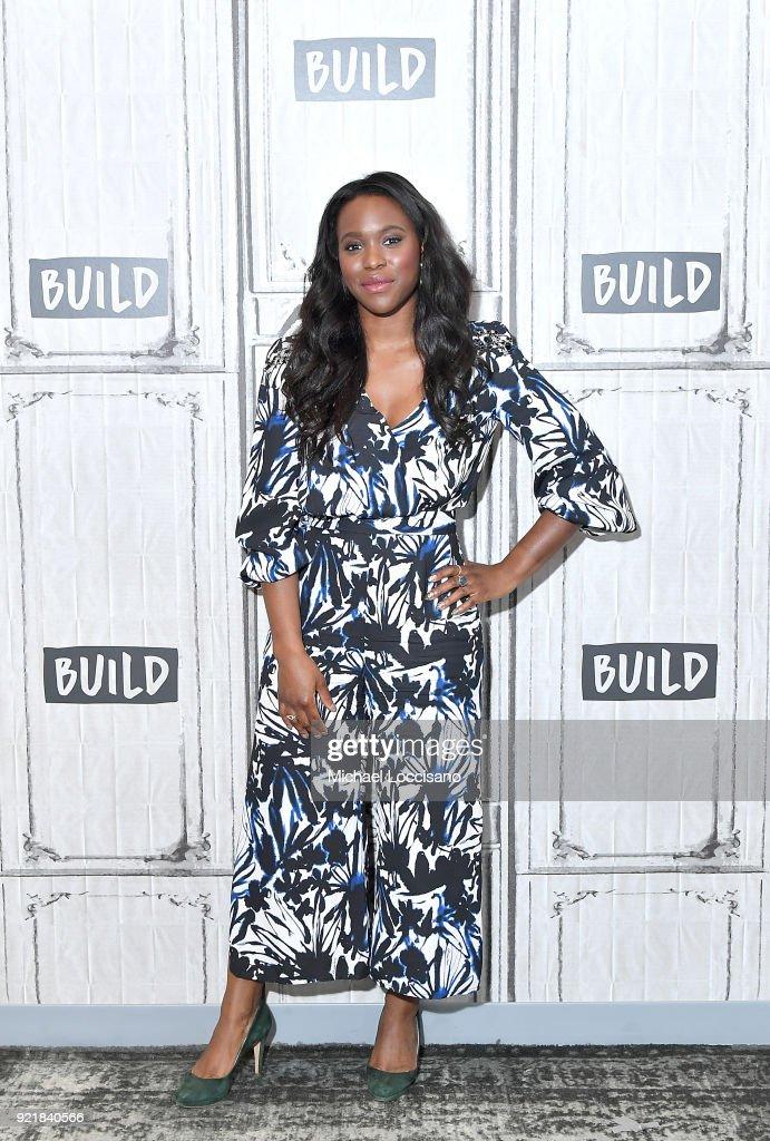 Celebrities Visit Build - February 20, 2018 : News Photo