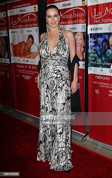 Actress Clarissa Burt attends the 7th Annual Los Angeles Italia Film Fashion and Art Festival opening night gala at Mann Chinese 6 on February 19...