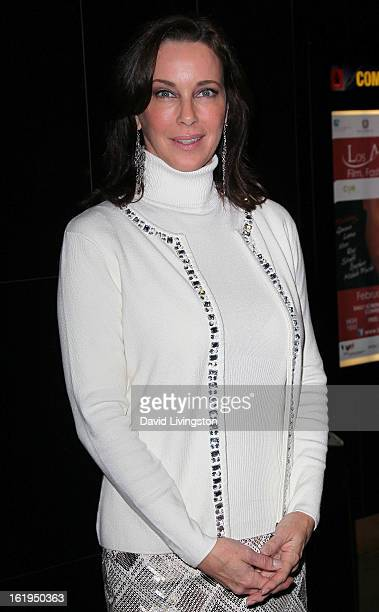 Actress Clarissa Burt attends the 8th Annual Los Angeles Italia Film Fashion and Art Festival Opening Night Gala at the Mann Chinese 6 on February 17...