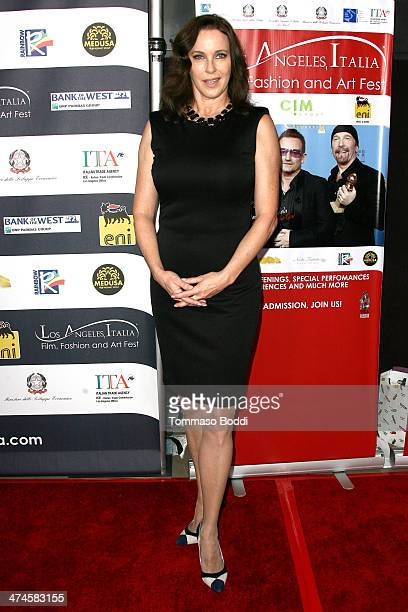 Actress Clarissa Burt attends the 9th annual Los Angeles Italia Film Fashion and Art Fest opening night ceremony held at the TLC Chinese 6 Theatres...