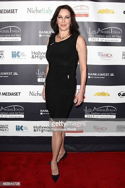 Actress Clarissa Burt attends the Los Angeles Italia Opening Gala held at the TCL Chinese 6 Theatres on February 15 2015 in Hollywood California