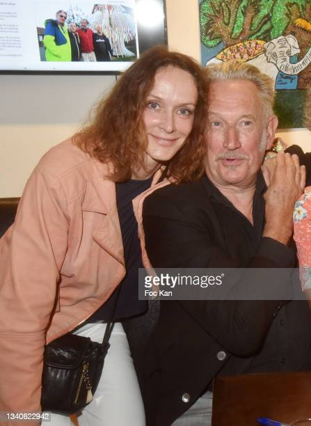 "Actress Claude Perron and director Benoit Delepine attend ""Le Cinema De Benoit Delepine Et Gustave Kervern"" Book Signing Party At Halle Saint Pierre..."