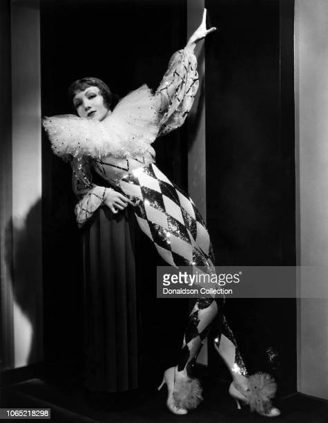 Actress Claudette Colbert in a scene from the movie Tonight Is Ours