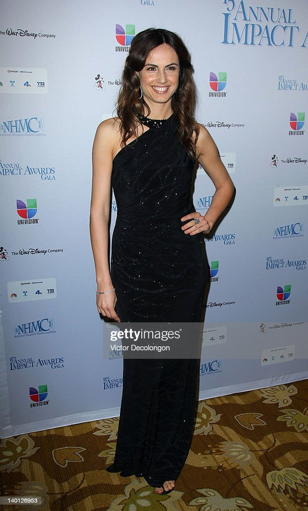 Actress Claudia Bassols arrives for The National Hispanic Media Coalition's 15th Annual Impact Awards - Arrivals at the Beverly Wilshire Four Seasons Hotel on February 24, 2012 in Beverly Hills, California.