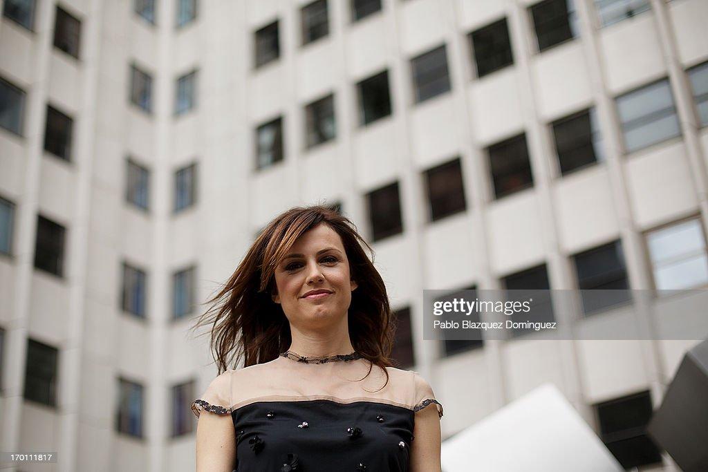 Actress Claudia Bassols poses for a portrait during 'Menu Degustacion' presentation at Cines Princesa on June 7, 2013 in Madrid, Spain.