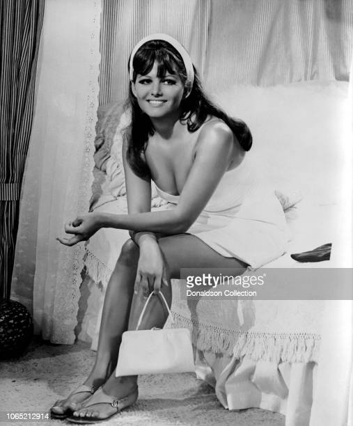 "Actress Claudia Cardinale in a scene from the movie ""Don't Make Waves"""