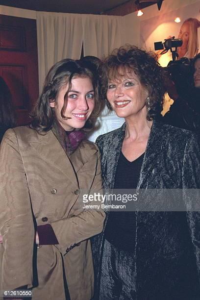 Actress Claudia Cardinale with her daughter Claudi-a Squitieri.