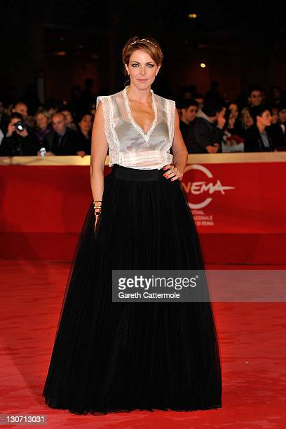 Actress Claudia Gerini attends the Il Mio Domani Premiere during the 6th International Rome Film Festival on October 28 2011 in Rome Italy