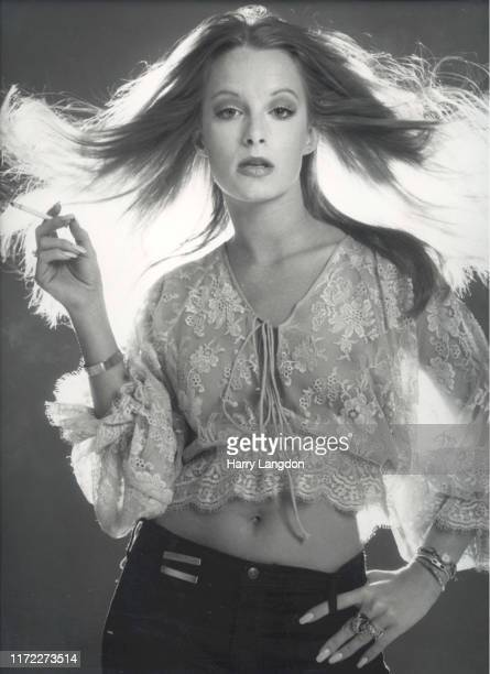 Actress Claudia Jennings poses for a portrait in 1978 in Los Angeles California