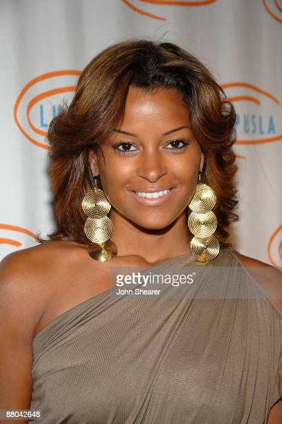 Actress Claudia Jordan attends the 9th annual Lupus LA Orange Ball at the Beverly Wilshire Four Seasons Hotel on May 28 2009 in Beverly Hills...