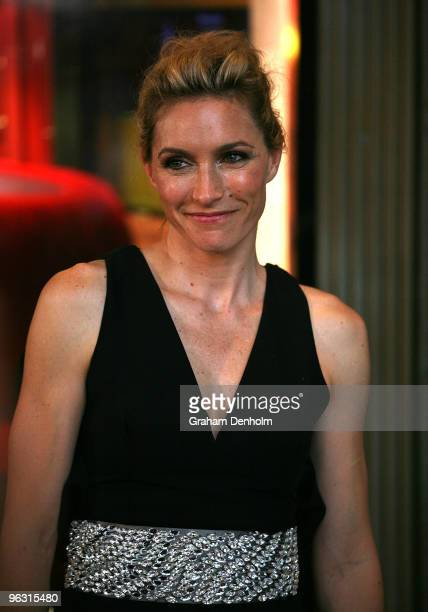 Actress Claudia Karvan attends the Australian premiere of 'Daybreakers' at Hoyts at The Entertainment Quarter on February 1 2010 in Sydney Australia