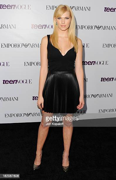 Actress Claudia Lee arrives at the 2013 Teen Vogue Young Hollywood Awards on September 27 2013 in Los Angeles California