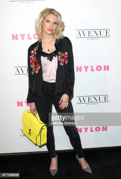 Actress Claudia Lee attends NYLON's Annual Young Hollywood May Issue Event at Avenue on May 2 2017 in Los Angeles California