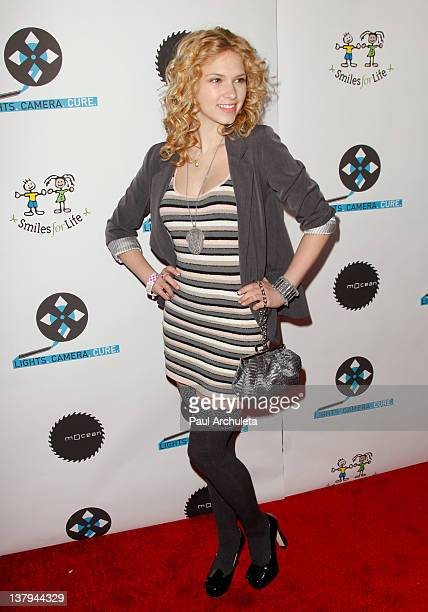 Actress Claudia Lee attends the 'Lights Camera Cure 2012 Hollywood DanceAThon' at Avalon on January 29 2012 in Hollywood California