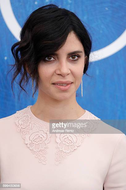 Actress Claudia Potenza attends a photocall for 'Mountain' during the 73rd Venice Film Festival at on September 5 2016 in Venice Italy