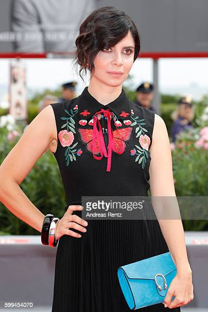 Actress Claudia Potenza attends the JaegerLeCoultre Glory To The Filmmaker Award To Amir Naderi And premiere of 'Mountain' during the 73rd Venice...