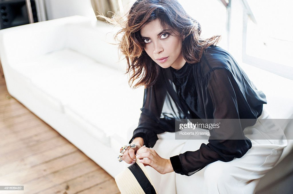 Actress Claudia Potenza is photographed for Self Assignment on July 31, 2013 in Rome, Italy.
