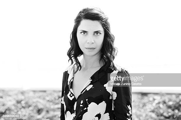 Actress Claudia Potenza poses on September 4 2016 in Venice Italy