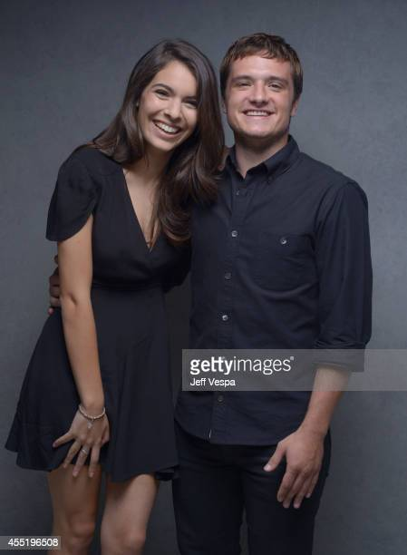 Actress Claudia Traisac and actor Josh Hutcherson of Escobar Paradise Lost pose for a portrait during the 2014 Toronto International Film Festival on...