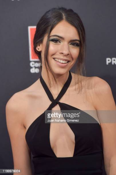 Actress Claudia Traisac attends Feroz awards 2020 red carpet at Teatro Auditorio Ciudad de Alcobendas on January 16 2020 in Madrid Spain