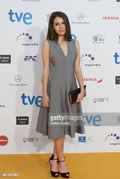Actress Claudia Traisac attends the 20th Jose Maria Forque cinema awards at the Palacio Municipal de Congresos on January 12 2015 in Madrid Spain