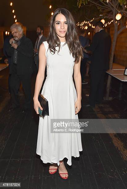 Actress Claudia Traisac attends the after party for the premiere of RADiUS and The Weinstein Company's Escobar Paradise Lost on June 22 2015 in...