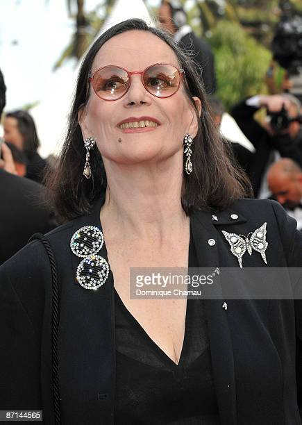 Actress Claudine Auger attends the 'Up' Premiere at the Palais des Festivals during the 62nd Annual Cannes Film Festival on May 13 2009 in Cannes...